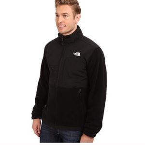 The north face | Black zip up jacket size Large